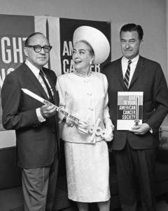 Jack Benny, Joan Crawford and Lang Adams1966© 1978 Barry Kramer - Image 24354_0239