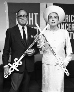 Jack Benny and Joan Crawford1966© 1978 Barry Kramer - Image 24354_0240
