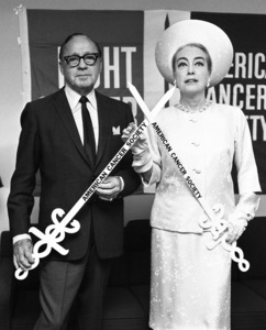 Jack Benny and Joan Crawford1966© 1978 Barry Kramer - Image 24354_0240