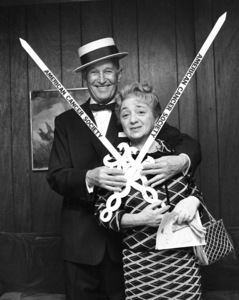 Maurice Chevalier and Molly Picon1967© 1978 Barry Kramer - Image 24354_0253