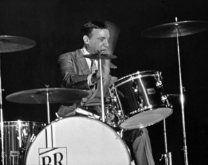 Buddy Rich performing at the Stonybrook Jazz Festival in New York1967© 1978 Barry Kramer - Image 24354_0266