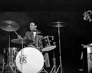 Buddy Rich performing at the Stonybrook Jazz Festival in New York1967© 1978 Barry Kramer - Image 24354_0268