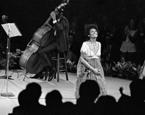 Lena Horne performing at Westbury Music Fair in New York1968© 1978 Barry Kramer - Image 24354_0273