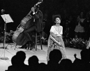 Lena Horne performing at Westbury Music Fair in New York1968© 1978 Barry Kramer - Image 24354_0273