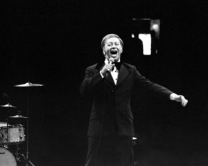 Mel Torme performing at the Westbury Music Fair in New York1974© 1978 Barry Kramer - Image 24354_0274