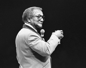 Redd Foxx performing at the Westbury Music Fair in New York1974© 1978 Barry Kramer - Image 24354_0275