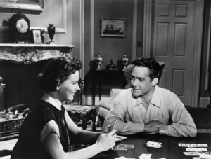 """Jean Peters and Richard Todd in """"A Man Called Peter""""1955 20th Century-Fox** I.V. - Image 24358_0001"""
