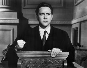 """Richard Todd in """"A Man Called Peter""""1955 20th Century-Fox** I.V. - Image 24358_0002"""