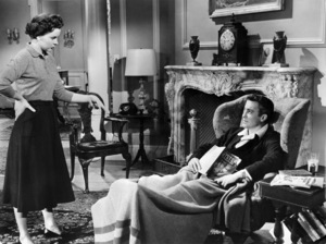 """Jean Peters and Richard Todd in """"A Man Called Peter""""1955 20th Century-Fox** I.V. - Image 24358_0003"""