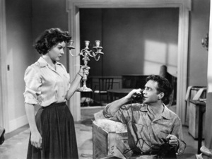 """Jean Peters and Richard Todd in """"A Man Called Peter""""1955 20th Century-Fox** I.V. - Image 24358_0004"""