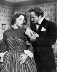 "Elizabeth Sellars and John Derek in ""Prince of Players""1955 20th Century-Fox** I.V. - Image 24359_0001"