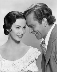 "Maggie McNamara and Richard Burton in ""Prince of Players""1955 20th Century-Fox** I.V. - Image 24359_0003"