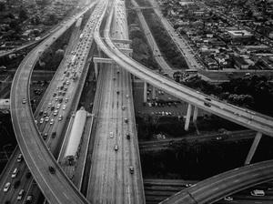 110 and 105 Freeways, Los Angeles, California2017© 2017 Jason Mageau - Image 24361_0009