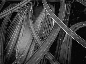 110 and 105 Freeways, Los Angeles, California2017© 2017 Jason Mageau - Image 24361_0010