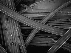 110 and 105 Freeways, Los Angeles, California2017© 2017 Jason Mageau - Image 24361_0011