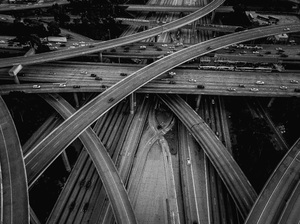 110 and 105 Freeways, Los Angeles, California2017© 2017 Jason Mageau - Image 24361_0016