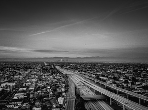 110 and 105 Freeways, Los Angeles, California2017© 2017 Jason Mageau - Image 24361_0017