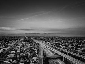 110 and 105 Freeways, Los Angeles, California2017© 2017 Jason Mageau - Image 24361_0017