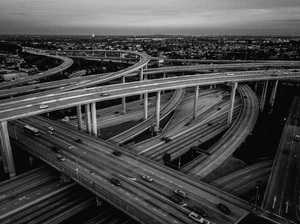 110 and 105 Freeways, Los Angeles, California2017© 2017 Jason Mageau - Image 24361_0018