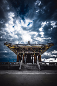 Korean Bell of Friendship, Angel
