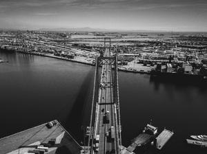 Vincent Thomas Bridge, Los Angeles, California2017© 2017 Jason Mageau - Image 24361_0320