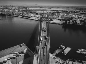 Vincent Thomas Bridge, Los Angeles, California2017© 2017 Jason Mageau - Image 24361_0321