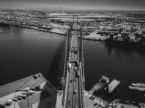 Vincent Thomas Bridge, Los Angeles, California2017© 2017 Jason Mageau - Image 24361_0321