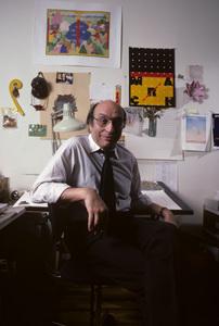 Milton GlaserOctober 1984© 1984 Peter Angelo Simon - Image 24364_0049
