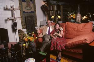 Milton Glaser and wife Shirley Girton GlaserOctober 1984© 1984 Peter Angelo Simon - Image 24364_0050