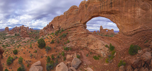 North Window looking at Turret Arch in Arches National Park, Utah2016© 2017 Viktor Hancock - Image 24366_0024