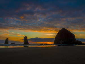 Haystack Rock at Cannon Beach, Oregon2016© 2017 Viktor Hancock - Image 24366_0043