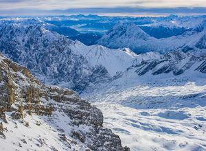 Zugspitze, the highest mountain in Germany2010© 2017 Viktor Hancock - Image 24366_0056