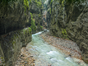 Partnach Gorge in Reintal near Garmisch-Partenkirchen, Germany2009© 2017 Viktor Hancock - Image 24366_0057