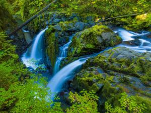 Sol Duc Falls, Olympic National Park, Washington2014© 2017 Viktor Hancock - Image 24366_0129