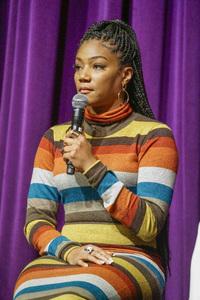 "Tiffany Haddish at an event to promote her book, ""The Last Black Unicorn""December 13, 2017© 2017 Viktor Hancock - Image 24366_0151"