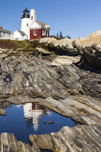 Pemaquid Point Light, New Harbor, Maine2011© 2011 Deede Denton - Image 24368_0024