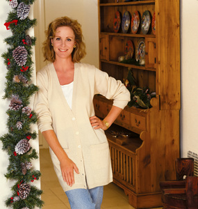 Joanna Kerns at home1990© 1990 Randy Harmon - Image 24370_0003
