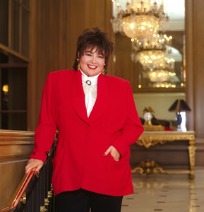 Roseanne at the Beverly Wilshire Hotel1990© 1990 Randy Harmon - Image 24370_0005