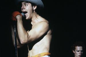 Red Hot Chili Peppers (Anthony Kiedis, Flea)1984© 1984 Ivy Ney - Image 24372_0006
