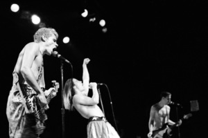 Red Hot Chili Peppers (Anthony Kiedis, Flea) at the Palace in Hollywood1985© 1985 Ivy Ney - Image 24372_0017