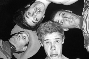 Red Hot Chili Peppers (Anthony Kiedis, Flea, Cliff Martinez, Jack Sherman)circa 1985© 1985 Ivy Ney - Image 24372_0027