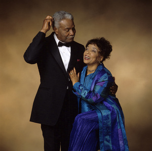 Ossie Davis and Ruby Deecirca 1990s© 1990 Michael Britto - Image 24373_0005