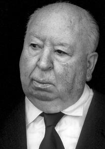 Alfred Hitchcock at his Bel Air home 1977© 1978 Steve Banks - Image 24377_0028