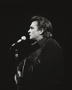 Johnny Cash performing at Madison Square Garden in New York City1969© 1978 Steve Banks - Image 24377_0034
