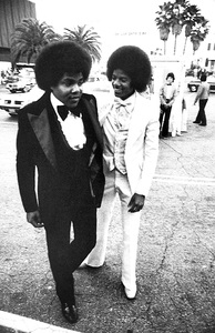Tito and Michael Jackson 1977© 1978 Steve Banks - Image 24377_0038
