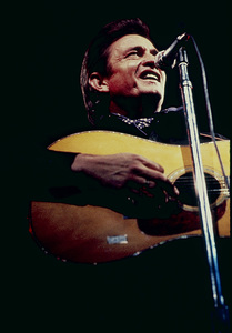 Johnny Cash performing at Madison Square Garden in New York City1969© 1978 Steve Banks - Image 24377_0053
