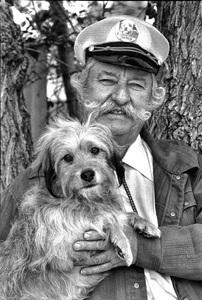 Frank Inn with Benji in Sunland, California 1978© 1978 Steve Banks - Image 24377_0114