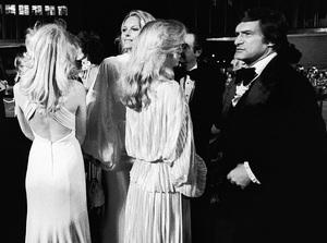 Hugh Hefner in Century City1977© 1978 Steve Banks - Image 24377_0121