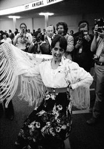 Joan Baez in Hollywood 1977© 1978 Steve Banks - Image 24377_0124