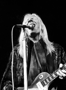 Johnny Winter performing at Madison Square Garden in New York City 1969© 1978 Steve Banks - Image 24377_0129